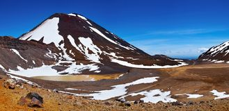 Mount Ngauruhoe, New Zealand Royalty Free Stock Photography