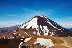 Mount Ngauruhoe, New Zealand stock photography