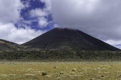 Mount Ngauruhoe New Zealand royalty free stock image