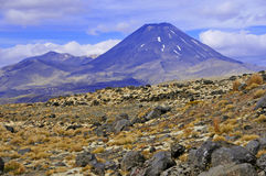 Mount Ngauruhoe, North Island, New Zealand Stock Photography
