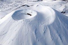 Mount Ngauruhoe - Tongariro National Park. Aerial Stock Photography