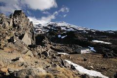 Mount Ngauruhoe in Tongariro National Park Stock Images