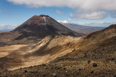 Mount Ngauruhoe in Tongariro National Park Royalty Free Stock Photo