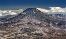 Mount Ngauruhoe at Tongariro National Park (New Zealand) Royalty Free Stock Photography