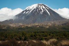 Mount Ngauruhoe volcano, New Zealand Royalty Free Stock Photo