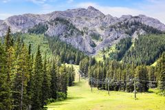 Mount Norquay in Banff National Park stock images