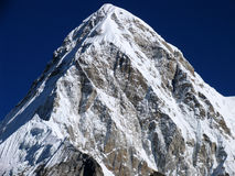 Mount Nuptse. With 7849m. Is located immediately west of Mount Everest. First climbed in 1961 by a british expedition stock image