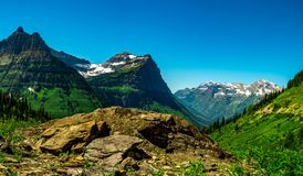 Free Mount Oberlin, Cannon Mountain, And Clements Mountain Make A Beautiful Panorama Stock Images - 121685184
