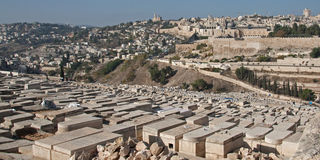 Mount of Olives Royalty Free Stock Images