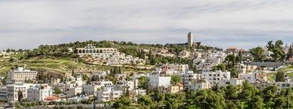 Mount of Olives i Jerusalem, Israel arkivbilder