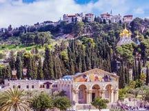 Mount of Olives, Jerusalem royalty free stock photo