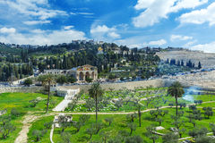 Mount of Olives, Jerusalem royalty free stock image