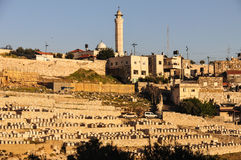 The Mount of Olives in Jerusalem Stock Image