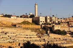 The Mount of Olives in Jerusalem Stock Image