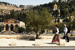 Mount of Olives in Jerusalem Israel Royalty Free Stock Photo