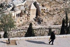 Mount of Olives in Jerusalem Israel Stock Photography