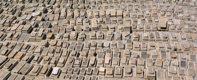 Mount of Olives Jewish Cemetery in Jerusalem - Israel Royalty Free Stock Photos