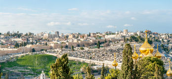 Mount of Olives Stock Image
