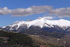 Mount Olympos Royalty Free Stock Photo