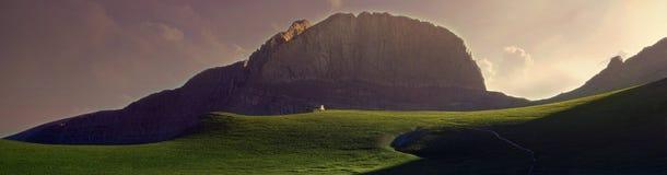 Mount Olympus royaltyfria foton