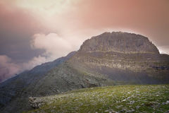 Mount Olympus arkivfoton
