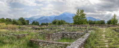 Mount Olympus and Dion, Greece. Royalty Free Stock Photo