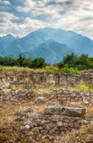 Mount Olympus and Dion, Greece. Stock Photos