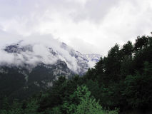 Mount Olympus in Greece Stock Images