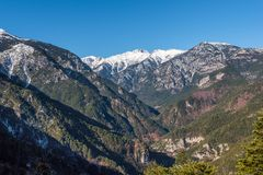 Mount Olympus in Greece Royalty Free Stock Images