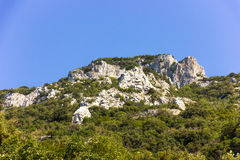 Mount Olympus - highest peak in Greece Royalty Free Stock Photo