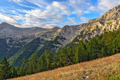 Mount Olympus landscape Royalty Free Stock Photography
