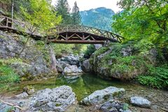 Mount Olympus National Park. Greece Royalty Free Stock Images