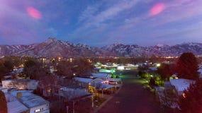 Mount Olympus UT arkivbild