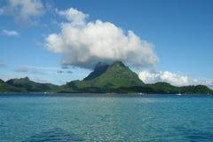 Mount Otemanu. In Bora Bora Royalty Free Stock Images