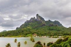 Mount Otemanu in Borabora Stock Photos