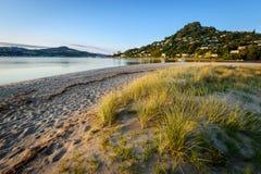 Mount Paku. Landscape photo of Pauanui Beach and Mt Paku, Tairua, Coromandel Peninsula Stock Images