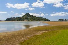 Mount Paku. Seen from Tairua town, Coromandel Peninsula, New Zealand Stock Image