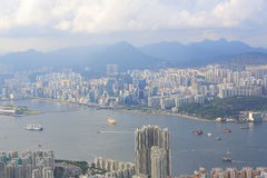 Mount Parker view of east kowloon Stock Photos