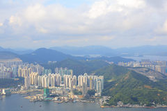Mount Parker view of east kowloon Royalty Free Stock Image