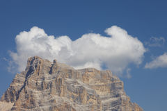 Mount Pelmo Panorama (Dolomites - Italy) Royalty Free Stock Photos