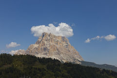 Mount Pelmo Panorama (Dolomites - Italy) Royalty Free Stock Photography