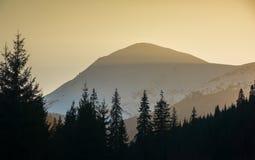 Mount Petros at sunrise Stock Image