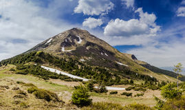 Mount Petros Royalty Free Stock Photography