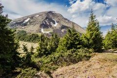 Mount Petros Stock Photo
