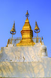 Mount Phousi,Laos Royalty Free Stock Images