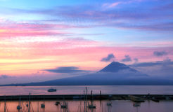 Mount Pico Sunrise Stock Images