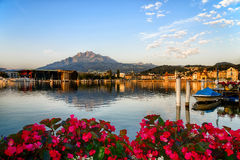 Mount Pilatus in Lucerne, Switzerland Royalty Free Stock Photos
