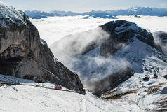 Mount pilatus Royalty Free Stock Images
