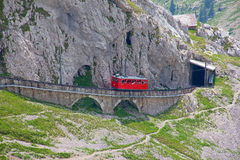 Mount Pilatus Royalty Free Stock Images
