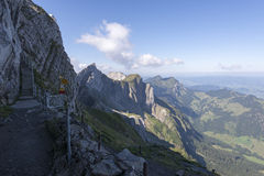 Mount Pilatus walk surrounding path, Switzerland stock photos